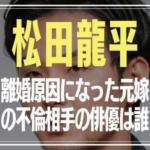 松田龍平 太田莉菜 離婚の理由原因