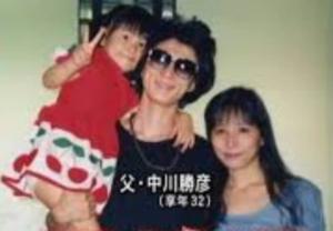 中川翔子 家族